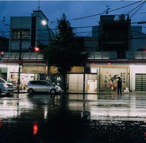 11 wieczór deszczowy