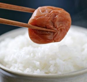 9 marynowana śliwka z ryżem