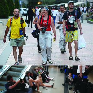 Ech, nasi turyści... :)