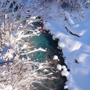 14. Shirogane Onsen_rzeka Biei